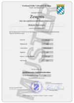Quali Kaufen Qualifizierenden Hauptschulabschluss Kaufen Berufszertifikate Diplome